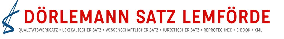 DÖRLEMANN SATZ LEMFÖRDE Logo